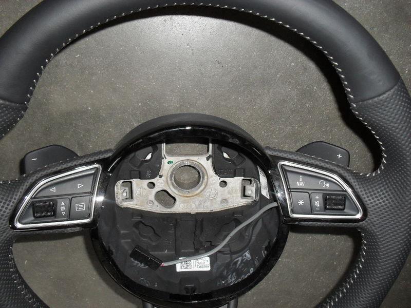airbagspecialist voorraad audi q3 audi a3 q3 lederen stuur zonder airbag met of zonder. Black Bedroom Furniture Sets. Home Design Ideas